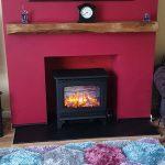"Stovax Marlborough Medium Electric stove – ""Fabulous Electric Stove"""