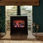 "Gazco Stockton2 Medium Gas Stove – ""Great Fire a install"""