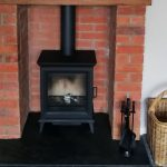 """Stovax Sheraton 5 Wood burning stove – """"So pleased with our new Stovax fire."""""""