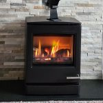 """Yeoman CL5 Gas Stove – """"Warm and atmospheric"""""""