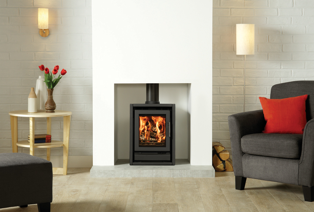 Riva F40 Freestanding Wood Burning Stoves Multi Fuel Stoves
