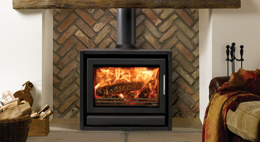 how to start a wood stove fire without smoke