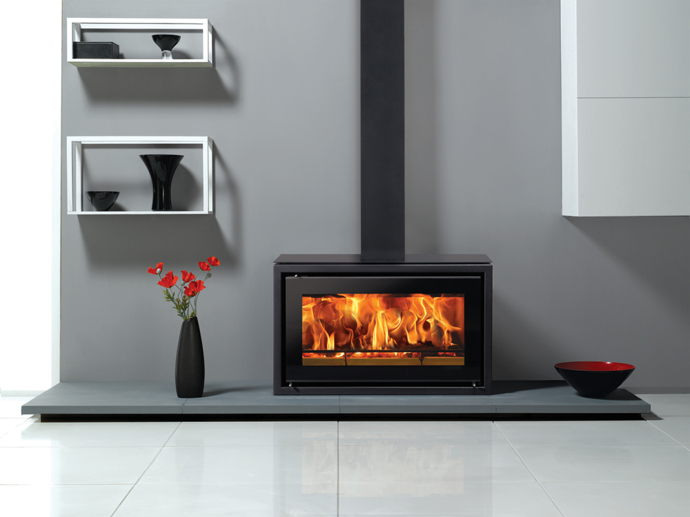 Glass Top Gas Stove With Chimney