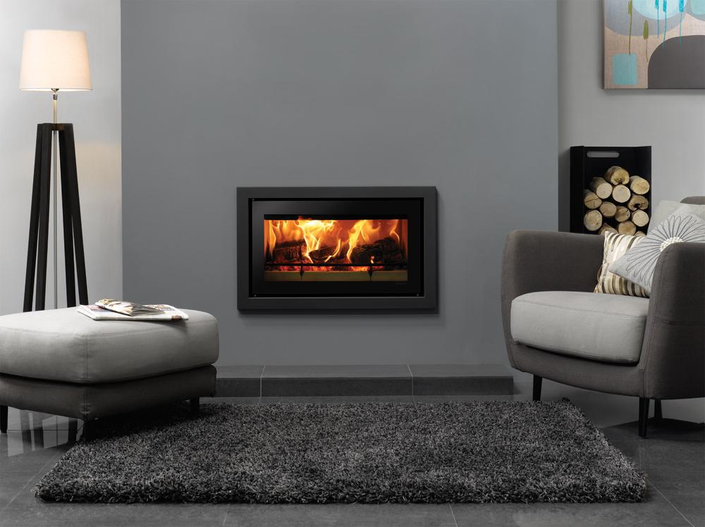 Studio Profil Inset Wood Burning Fires Stovax