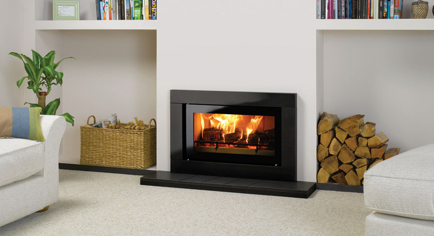 Studio Sorrento Wood Burning Inset Fires Stovax Fires