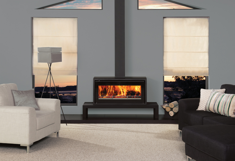 Studio 2 Freestanding Wood Burning Stove Stovax Stoves