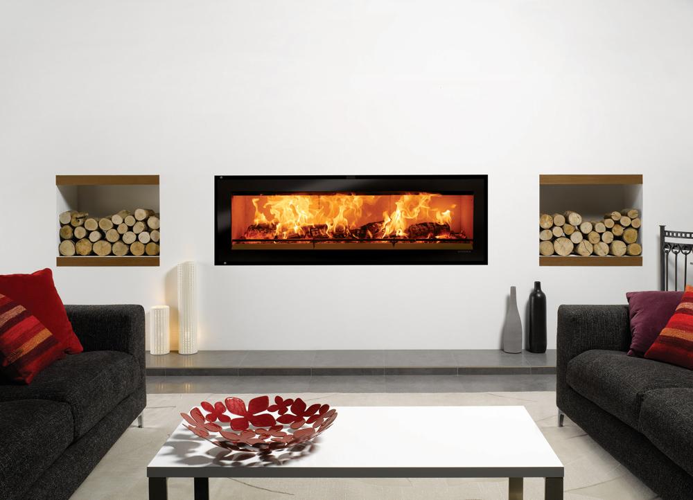 Studio Edge Inset Wood Burning Fires
