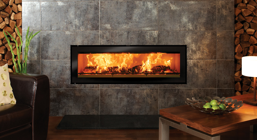 Studio Edge Inset Wood Burning Fires