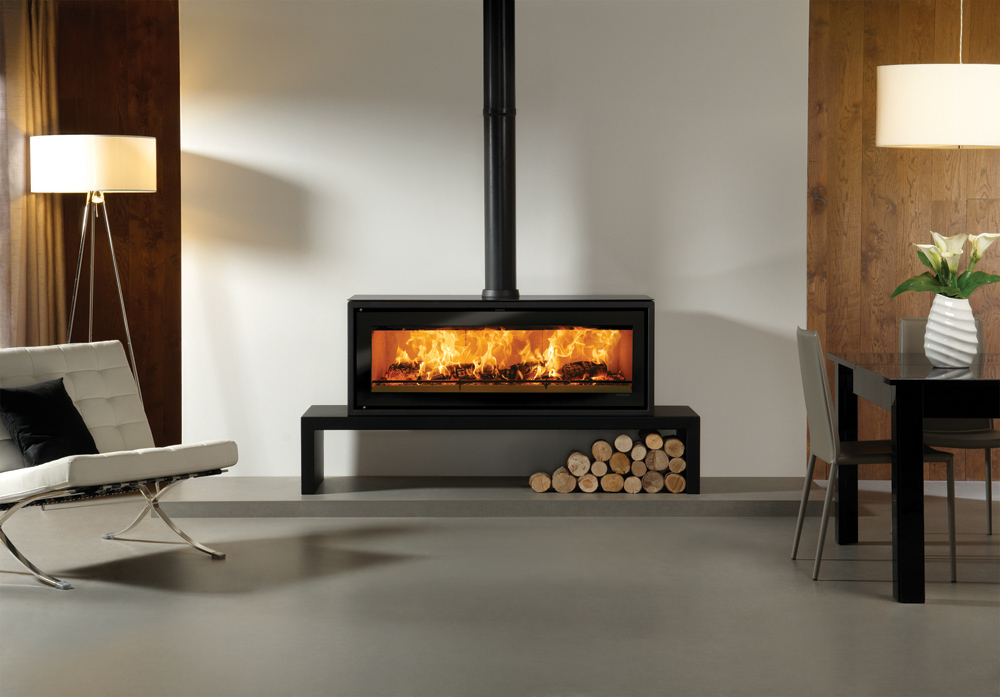 studio 3 freestanding wood burning stove. Black Bedroom Furniture Sets. Home Design Ideas