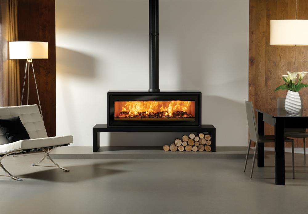studio 3 freestanding wood burning stove. Black Bedroom Furniture Sets. Home Design Ideas