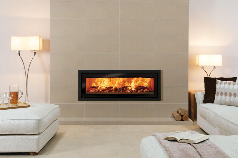 Studio Profil Inset Wood Burning Fires - Stovax Fires