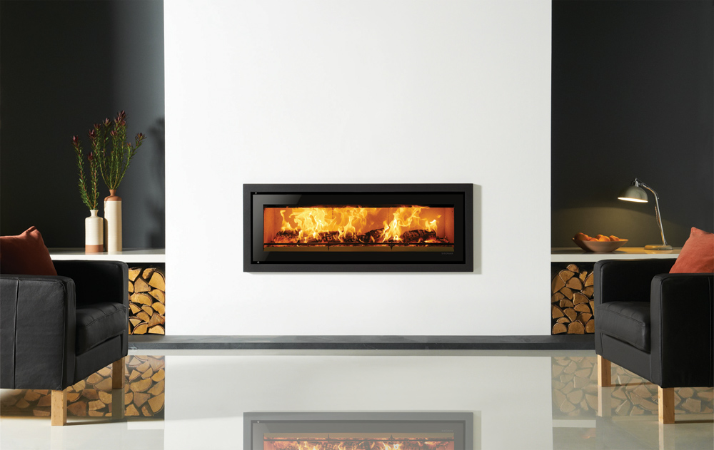 Studio Profil Inset Wood Burning Fires - Stovax Fires