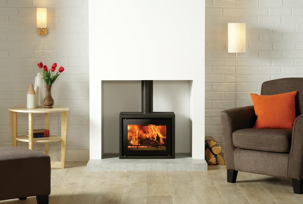 Studio 500 Freestanding Wood Burning Stove - Stovax Stoves