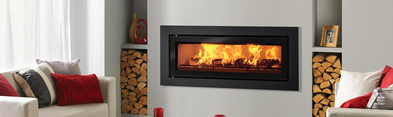 Built-in Wood Burning Fires - Stovax & Gazco