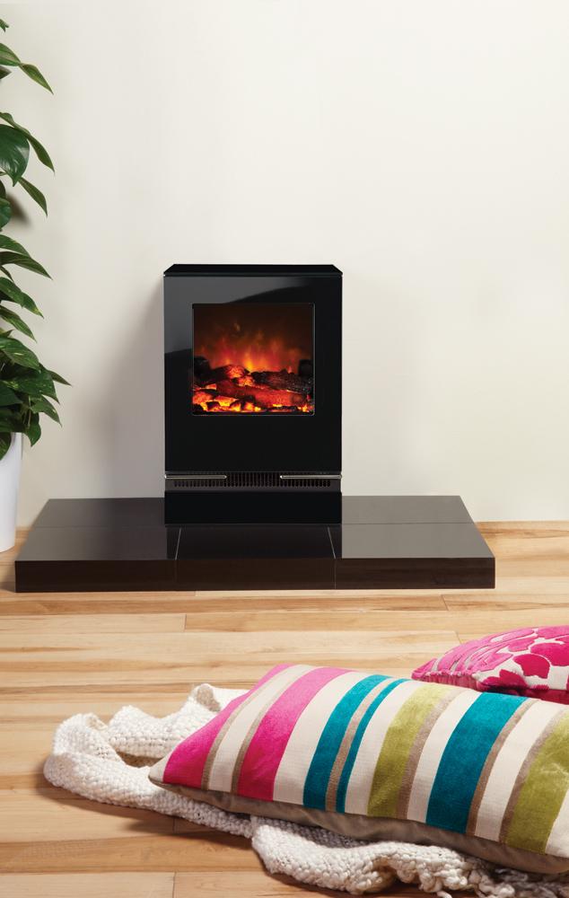 gazco vision small electric stove