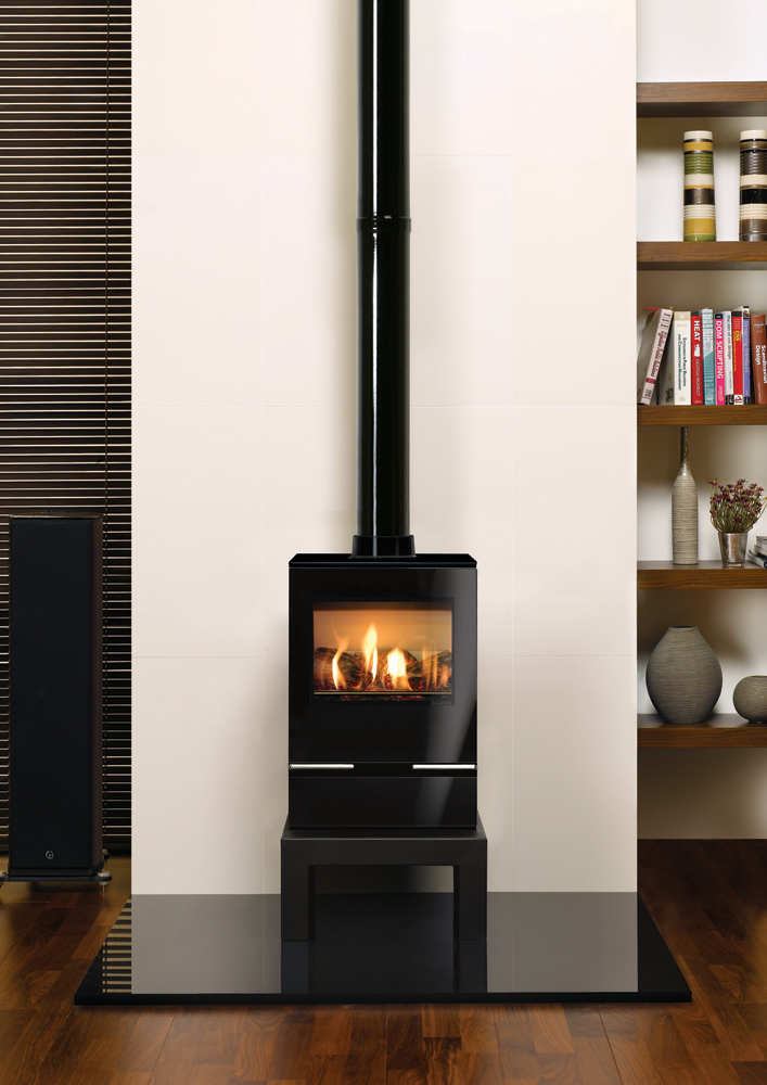 Vision Midi Gas Stoves Gazco Contemporary Stoves