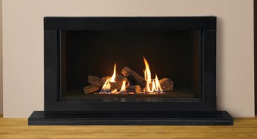 The Gazco Riva2 1050 gas fire will certainly keep the frost away!