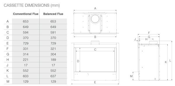 Riva2 600 Designio2 Dimensions