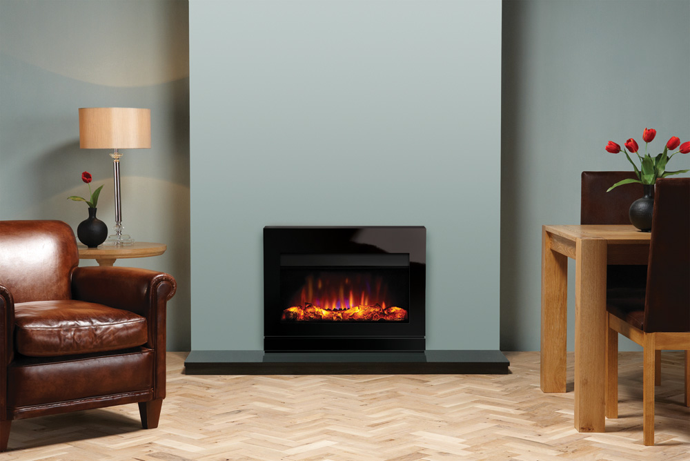 Electric Glass Inset Fire
