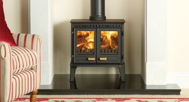 Cast Iron Classic Stove in a modern setting