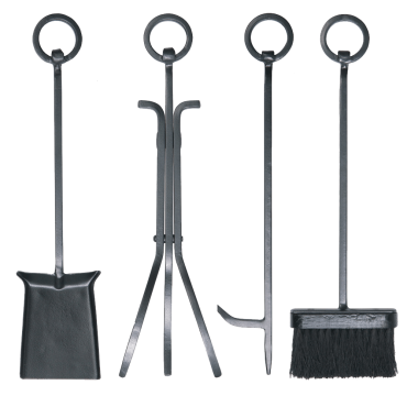 4pc Ring Handle Set with Standard Brush