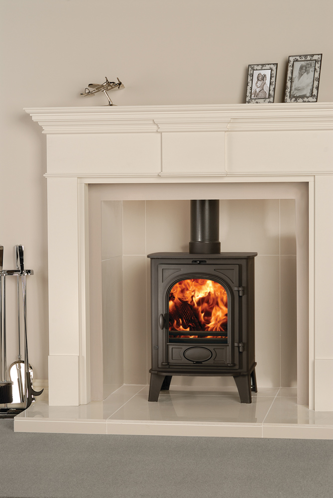 Image Result For Wood Stove In A Fireplace