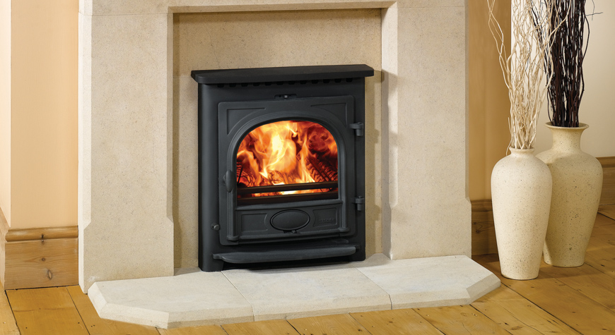 Stockton 7 Wood Burning & Multi-fuel Inset Convector Stoves