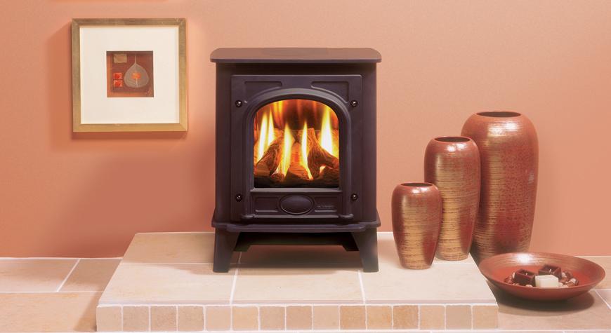 log burner effect fires