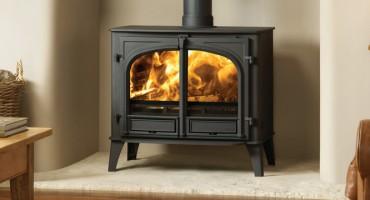 Wood burning keeps the cold at bay