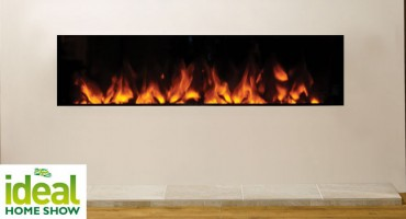 Gazco Electric fires at Ideal Home Show!