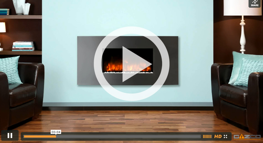 Studio Electric Verve Wall Mounted Fires
