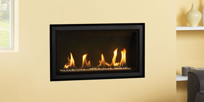 Studio Slimline Edge gas fire