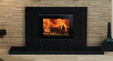 Hearth Mounted Wood Burning Fires
