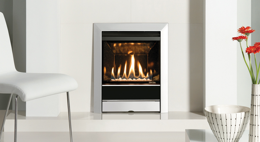 Tempo inset gas fires from gazco - Choosing the right white electric fireplace for you ...