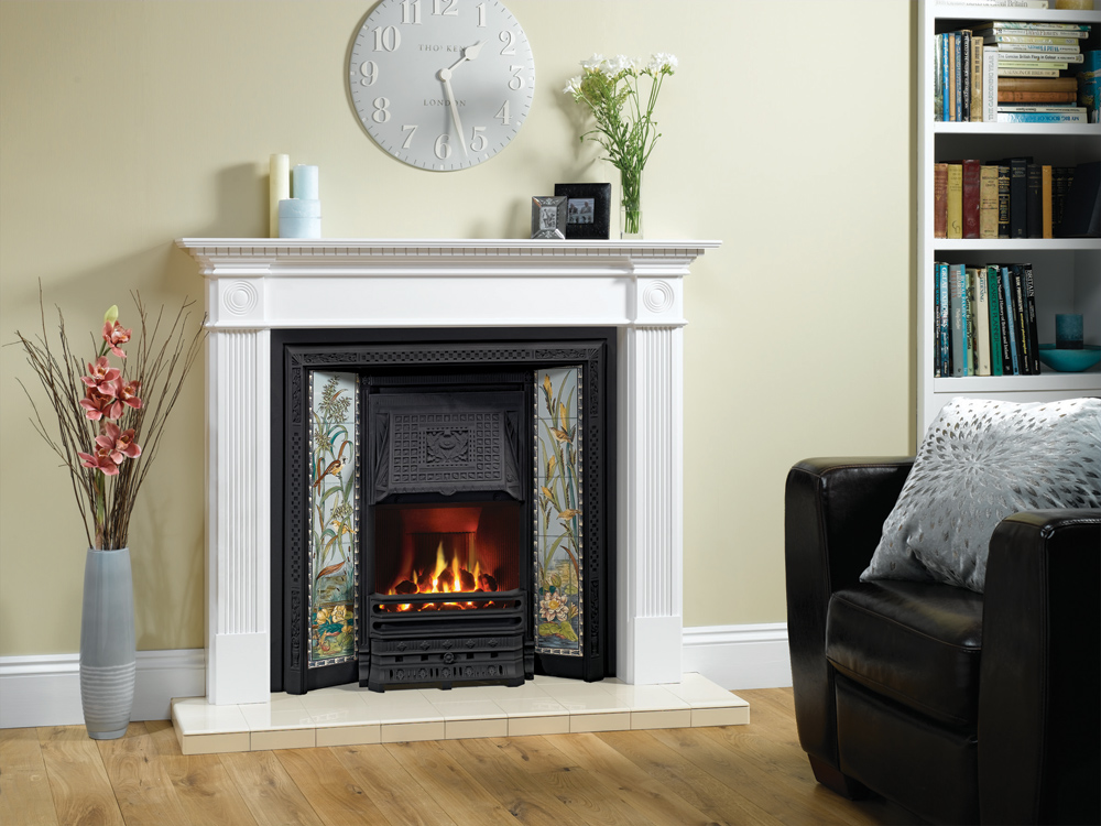tiled convector fireplaces stovax traditional