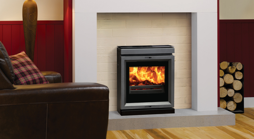 View 7hbi High Output Inset Boiler Stove Stovax