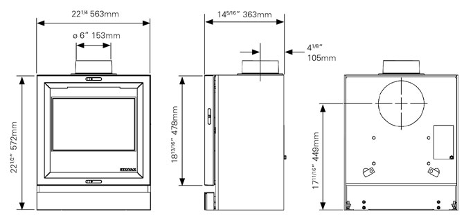 stovax riva 40 installation instructions