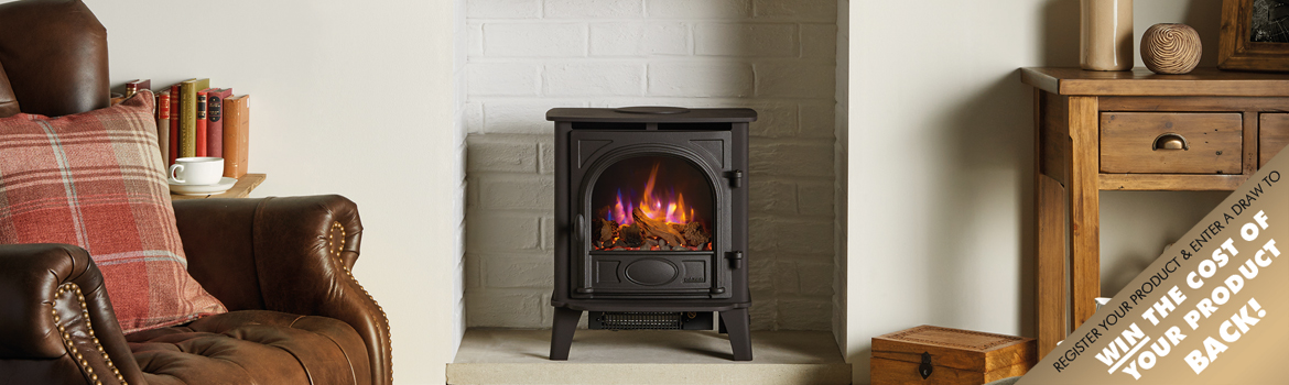 Stove & Fires Product Registration Gas and Electric
