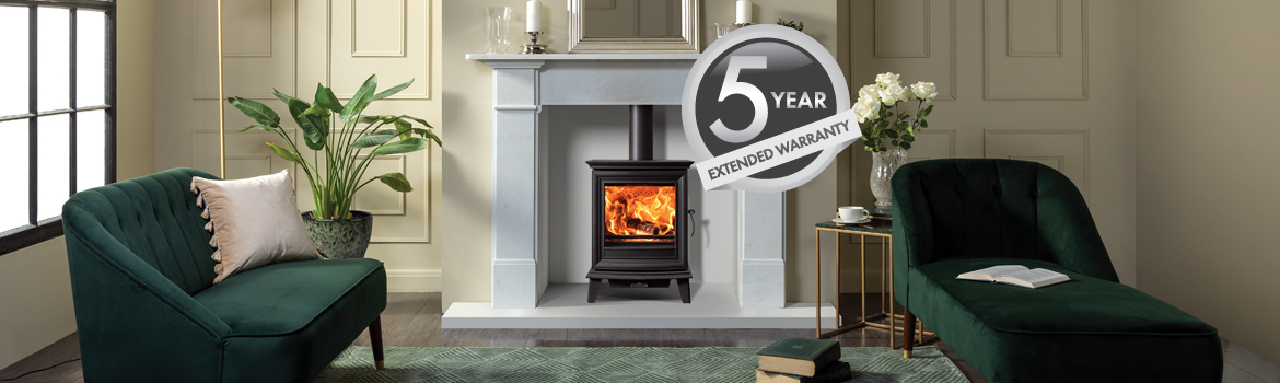Stovax Solid Fuel Stoves and Fireplaces 5 Year Extended Warranty