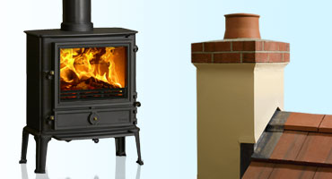Chimneys & Flue Systems for Solid Fuel Stoves & Fires